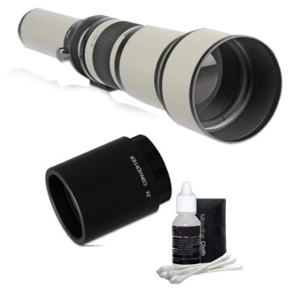 650-2600mm HD Telephoto Zoom Lens for Canon EOS Rebels