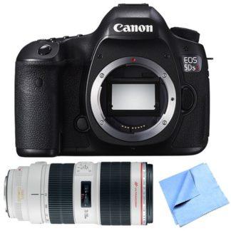 Canon EOS 5DS R 50.6MP Digital SLR Camera Zoom Lens Bundle