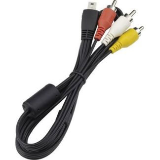 Stereo AV Cable AVC-DC400ST for EOS 7D DSLR or Digital Rebel T4i Cameras