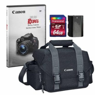 Canon 300DG Digital Gadget Bag with Accessories for Canon EOS Rebel Cameras