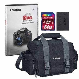 Canon 300DG Digital Gadget Bag with Accessories for Canon EOS Rebel SL2 Camera