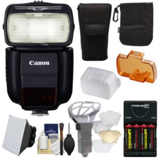 Canon 430EX III-RT Speedlite Flash for EOS 6D 5D 70D Rebel T5 T5i T6s T6i Camera