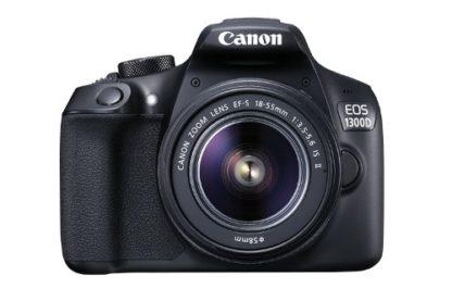 Canon EOS Rebel 1300D/T6 18MP DSLR Camera + Canon EF-S 18-55mm f/3.5-5.6 Camera Lens