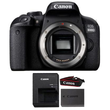 Canon EOS Rebel 800D / T7i 24.2MP Wifi NFC Digic 7 CMOS Digital SLR Camera Body ONLY Black